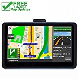 GPS Navigation for Car, 7 inch 8GB&256MB GPS Navigation System,Spoken Turn- to-Turn Traffic Alert Vehicle Car GPS Navigator,Lifetime Free Map Updates (Q) (Q) (Q)