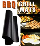 Chef Caron Non Stick BBQ Grill mats - Set of 2 - for Gas,...