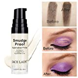 SUNSENT Eyeshadow Base Primer,Professional Long Lasting and Waterproof Eyeshadow Primer for All Shadows