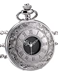 Product review of Hicarer Classic Quartz Pocket Watch with Roman Numerals Scale and Chain Belt