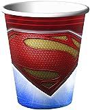 Superman Man of Steel 9oz Paper Cups (8ct)