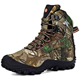 XPETI Women's Thermator Mid High-Top Waterproof Hiking Hunting Mountaineering Outdoor Work Boot Camouflage 8.5