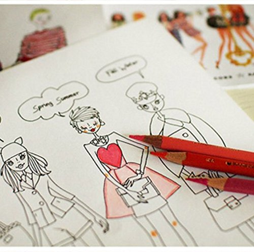 The Birth Of Fashion Coloring Book 96 Pages With Clothing Make Up