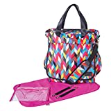 Trend Lab French Bull Ziggy Condensed Diaper Bag, Tote