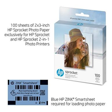 HP-Sprocket-2x3-Premium-Zink-Sticky-Back-Photo-Paper-100-Sheets-Compatible-with-HP-Sprocket-Photo-Printers