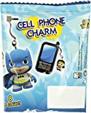"Superman (B): ~1"" Little Mates x DC Universe Micro-Figure Cell Phone Jack Charm"