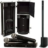 Bose L1 Compact Speaker System w/ Case & Shure BLX Dual PG58 Micophone