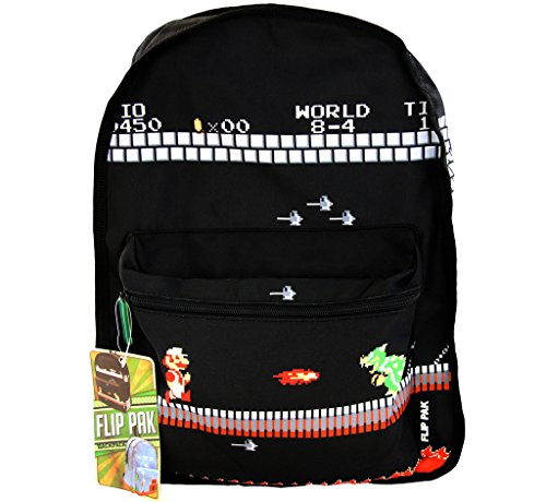 Nintendo Classic Super Mario Bros Reversible Backpack