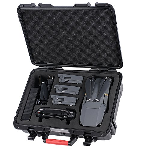 Smatree Carry Case for DJI Mavic Pro/Platinum -Waterproof Hard Case Suitcase Storage
