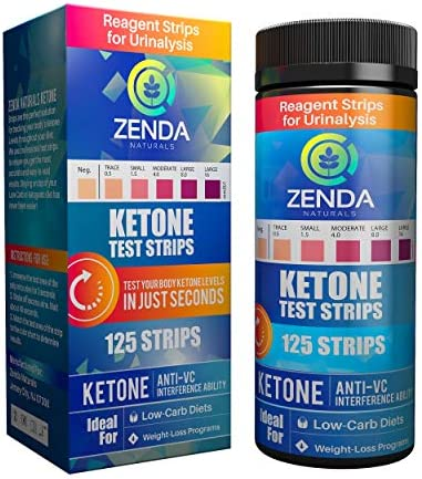 Ketone Strips - Perfect Ketogenic Supplement to Measure Ketones in Urine & Monitor Ketosis for Keto Diet, 125 Urinalysis Test Strips 3