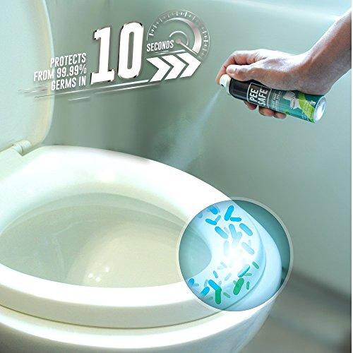 Pee Safe Toilet Seat Sanitizer Spray - 75 ml 2