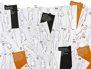100 Poses for Fashion Illustration – Womens Edition