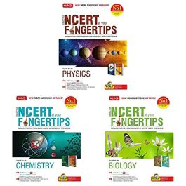 Objective NCERT at your Fingertips for NEET-AIIMS – Set of 3 Books(Physics, Chemistry and Biology for NEET 2021)