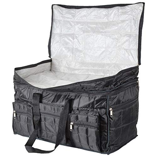 51cwJH7aCbL - Home Store India Fabric 14 Inches Soft Travel Duffle (Home Store India_Black)