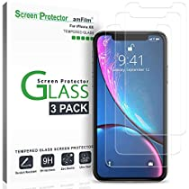 """iPhone XR (6.1"""") Glass Screen Protector 3 Pack"""