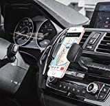Merkury Innovations Universal CD Phone Mount Cell Phone Holder Car Compatible All Smartphones up to 3.5'