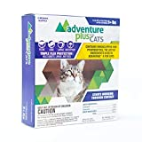 Adventure Plus Triple Flea Protection for Cats, 9 lbs and Over, 4 Months, 4 Doses