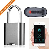 Xiangge Smart Combination Lock Padlock,Dustproof and Waterproof IP65 Smart Remote Control Luggage Lock for Indoor and Outdoor Use
