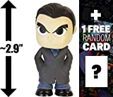 "Bruce Wayne: ~2.9"" Batman v Superman 'Dawn of Justice' x Funko Mystery Minis Vinyl Figure Series + 1 FREE Official DC Trading Card Bundle [87388]"