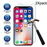 Fiaya Compatible with Apple iPhone XS/iPhone XS Max/iPhone XR, HD Tempered Glass Screen Protector (iPhone XS Max, 2-Pack)