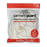 Garment Guard: disposable adhesive underarm shields (10 pairs, Beige)