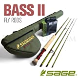 Sage Fly Fishing Bass II (230G-4) - 230Gr, 7' 11' Small Mouth Bass Fly Fishing Rod