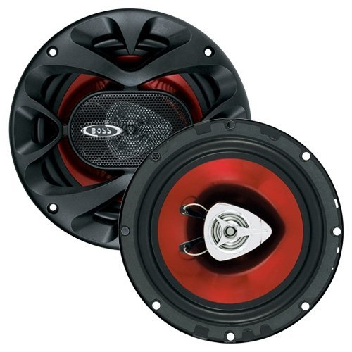 BOSS Audio CH6520 Car Speakers - 250 Watts Of Power Per Pair And 125 Watts Each, 6.5 Inch, Full Range, 2 Way, Sold in Pairs, Easy Mounting