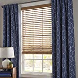 Better Homes and Gardens 2' Faux Wood Blinds, Easily Adjustable (Oak, 47x64)
