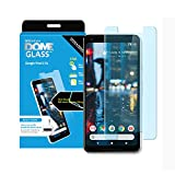 Dome Glass Google Pixel 2 XL Screen Protector Tempered Glass (Replacement Set), [Liquid Dispersion Tech] 2.5D Curved Full Cover by Whitestone for Pixel 2 XL - Spare Kit (No UV Light)