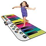 Kidzlane Floor Piano Mat: Jumbo 6 Foot Musical Keyboard Playmat for Toddlers and Kids