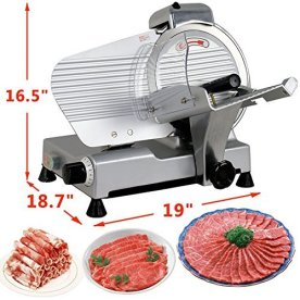 HomGarden-10-Meat-Slicer-Semi-Auto-Stainless-Steel-Cutter-Cheese-Food-Electric-Blade-Kitchen-DeliVeggies-for-Commercial-Home