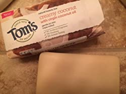 Tom's of Maine Natural Beauty Bar Soap With Virgin Oil, Coconut, 5 Ounce, 6 Count Customer Image 1