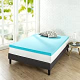 Zinus 3 Inch Gel Memory Foam Mattress Topper, King