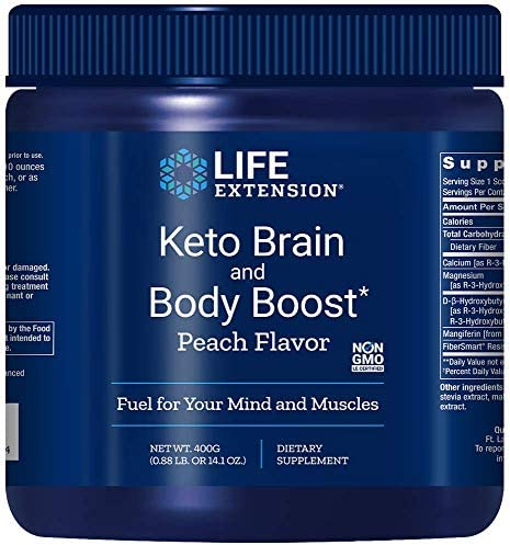 Life Extension Keto Brain and Body Boost Powder, 14.10 Ounce (Packaging May Vary) 3