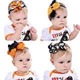 Baby Headbands Hair Wraps Cute Bows Fashion Dress-Up Dance Accessory Newborn Girl Birthday Gift