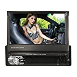 KKmoon Car Stereo Radio Player 7inch Universal Retractable MP5 Player with BT FM USB SD with GPS Navigation