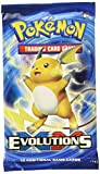 Pokemon TCG: XY Evolutions, Blistered Booster Pack Containing 10 Cards Per Pack With Over 100 New Cards To Collect