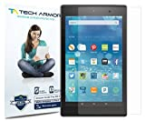 Tech Armor Amazon Kindle Fire HD Screen Protector, Anti-Glare Matte Film for Kindle Fire HD 8' (2015/2016/2017) [2-Pack]