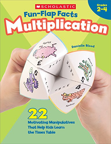 Fun-Flap Facts: Multiplication, Grades 2-4