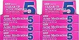 Benzoyl Peroxide 5 % Generic for Oxy Balance Acne Treatment Medication Gel 1.5 oz 6 PACK