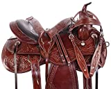 Product review for WESTERN PARADE SHOW PLEASURE TRAIL HORSE LEATHER SADDLE TACK SET 15 16 17 18