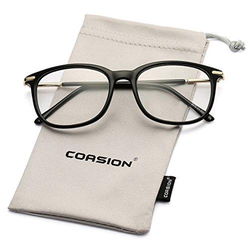 b633e2d2f9a Non-prescription Horn Rimmed Clear Lens Hipster Eye Glasses Frame ...