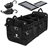 Trunkcratepro Collapsible Portable Multi Compartments Trunk Organizer, Black
