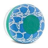 Aduro AquaSound WSP20 Shower Speaker, Portable Waterproof Wireless Bluetooth Speaker (Snake)