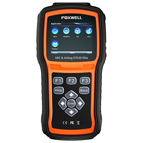 FOXWELL NT630 Elite OBD2 Scanner ABS SRS...