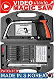New 15-in-1 Magic Universal Hand Saw Kit Toolbox Of Multi Blades Set Works As Hacksaw Coping Bow Jab Rip Pruning Chain Handsaws A Cutter Suitable To Cut Wood PVC Pipes (pack of 1)