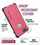 iPhone 6S Waterproof Case, Ghostek Nautical Series for Apple iPhone 6 & 6S (Pink)