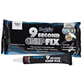 MagicEzy 9 Second Chip Fix - One-Part Filler And Color For Deep Damage Fiberglass - Oyster White (RAL9010)
