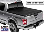 Gator ETX Soft Tri-Fold Truck Bed Tonneau Cover | 59501 | 2005 - 2012 Nissan Frontier 5' bed | MADE IN THE USA