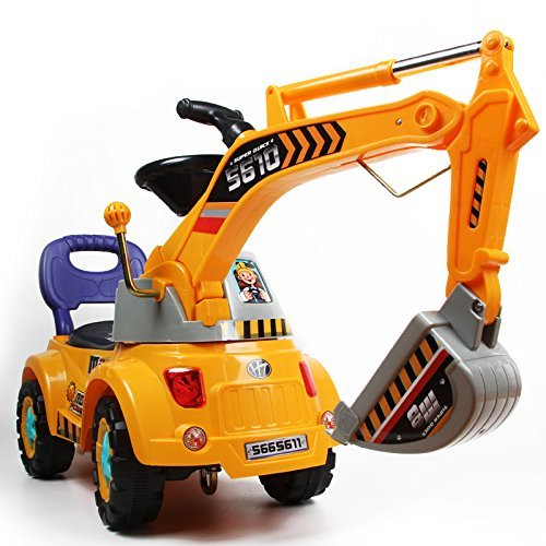Digger scooter, Ride-on